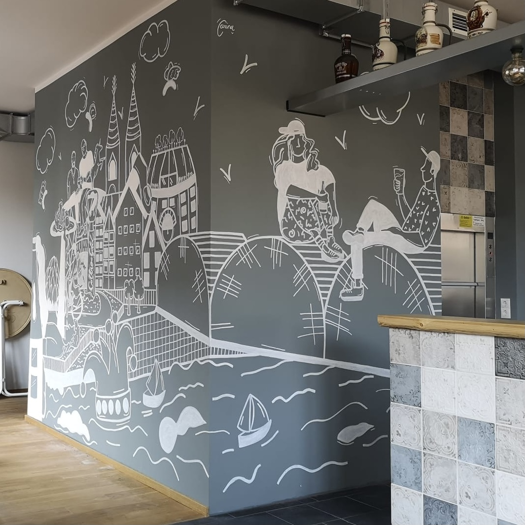 COLTRO BREWERY MURAL